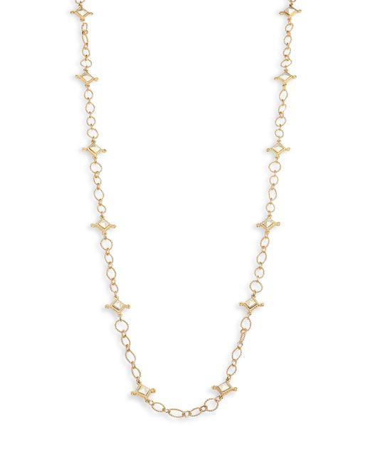 Stephanie Kantis - Metallic Venetian Two-tone Chain Station Necklace - Lyst