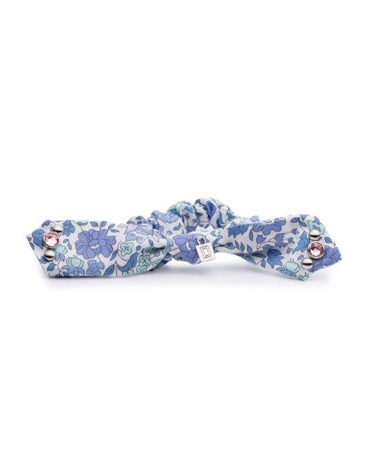 DANNIJO - Blue Betsy Scrunchie/bracelet - Lyst