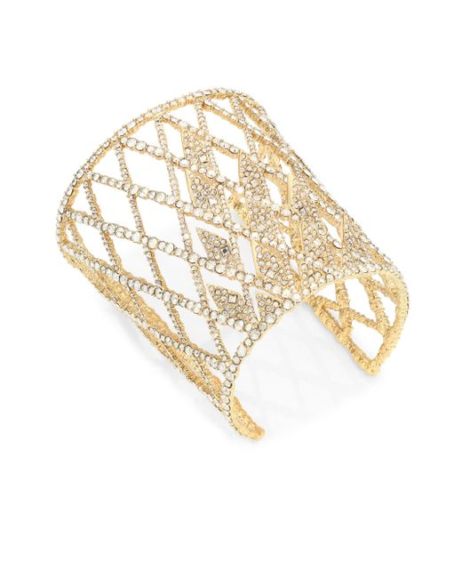 Alexis Bittar | Metallic Elements Crystal Lattice Cuff | Lyst