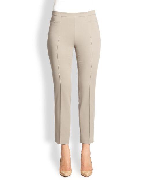 Akris Punto - Natural 1400 Techno Cotton Franca Pants - Lyst