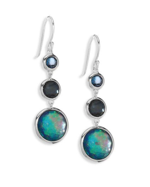 Ippolita | Metallic Lollipop? Earrings Semi-precious Multi-stone Drop Earrings | Lyst