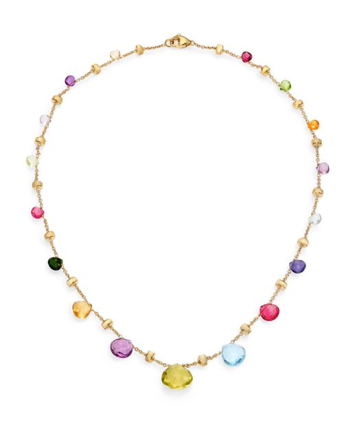 Marco Bicego | Metallic Paradise Semi-precious Multi-stone & 18k Yellow Gold Necklace | Lyst