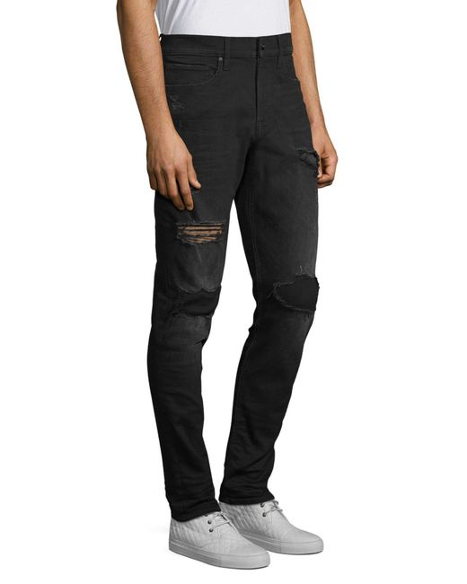 John Varvatos Mens Wight Jean Button Fly Bide