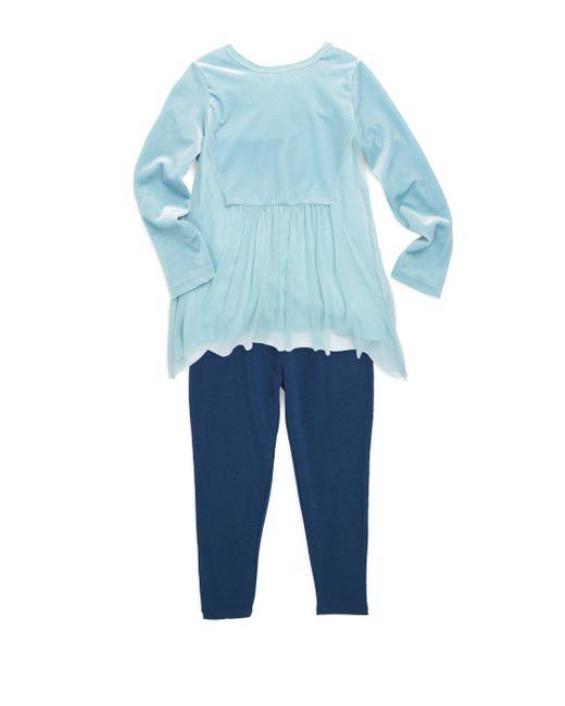 Splendid | Blue Baby Girl's Two-piece Leggings Set | Lyst