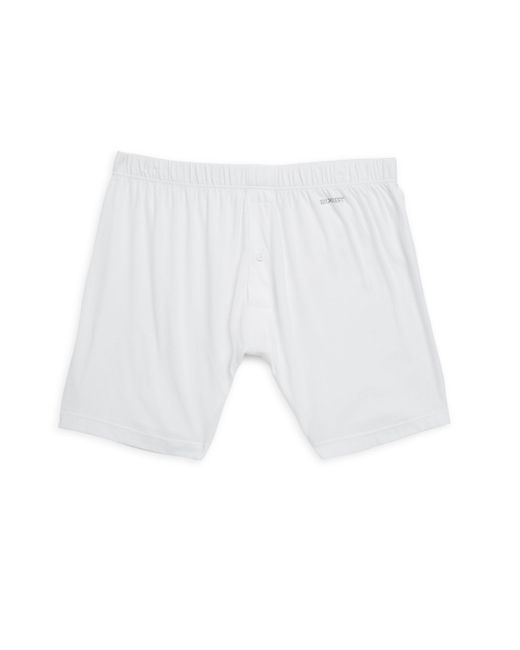 2xist White Pima Cotton Boxers for men
