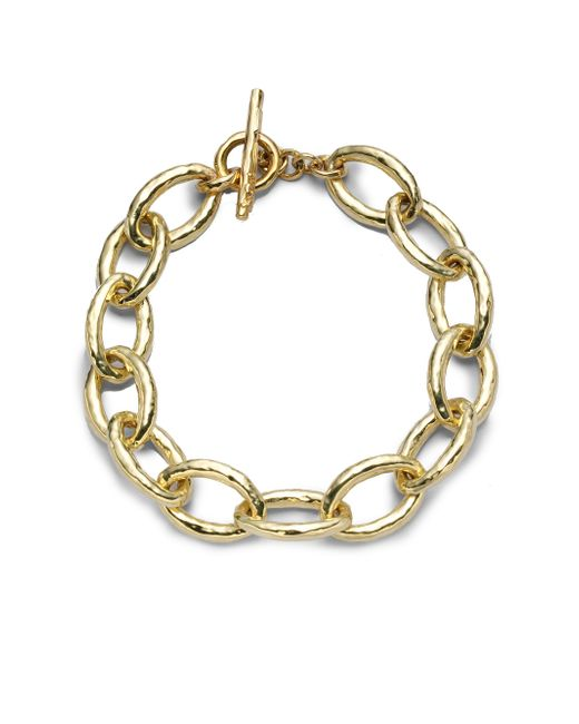 Ippolita - Metallic Glamazon 18k Yellow Gold Mini Bastille Link Bracelet - Lyst