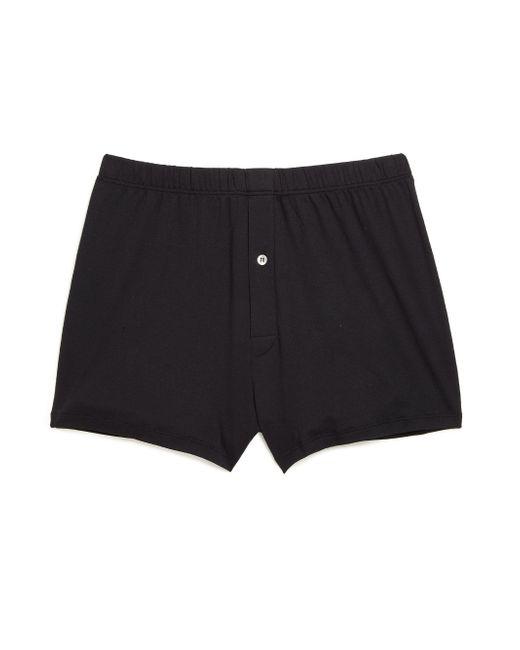 Hanro - Black Sea Island Cotton Sea Island Cotton Boxers for Men - Lyst