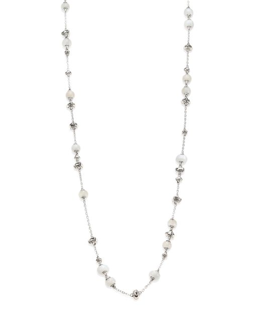 John Hardy - Multicolor Bamboo White Moonstone & Sterling Silver Sautoir Necklace/36 - Lyst