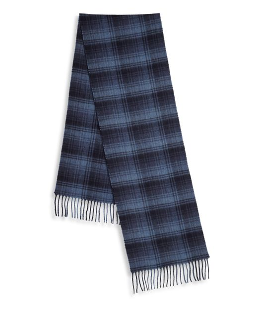 Polo Ralph Lauren | Blue Wool & Cashmere Blend Scarf for Men | Lyst