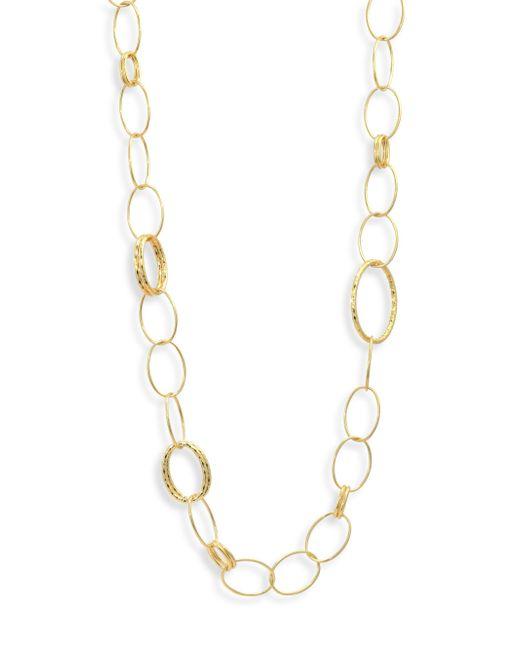 Ippolita - Metallic Glamazon 18k Yellow Gold Bastille Mixed Link Necklace - Lyst