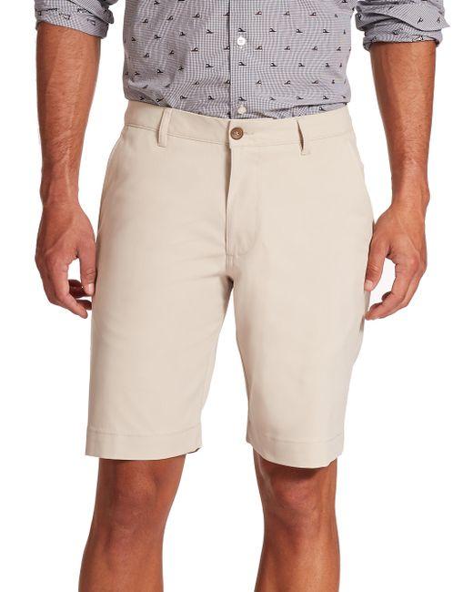 Saks Fifth Avenue Natural Golf Shorts for men