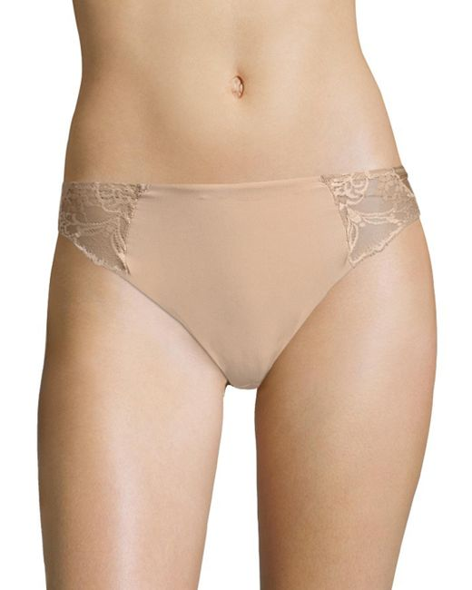 Wacoal | Natural Lace Impression High-cut Brief | Lyst