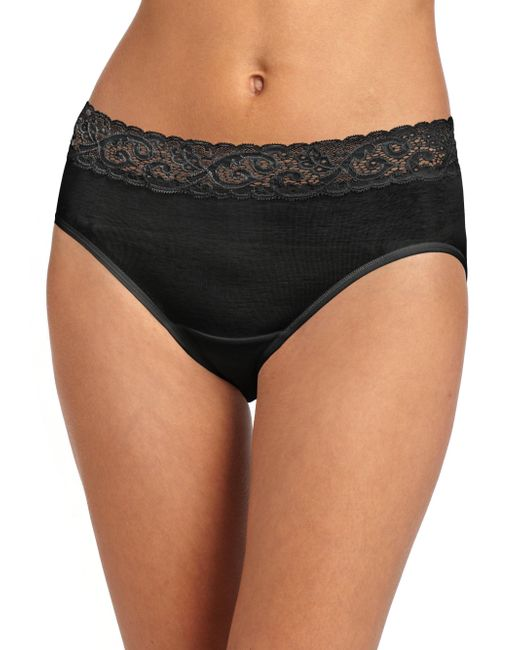 Hanro - Black Moments Cotton Hipster Brief - Lyst