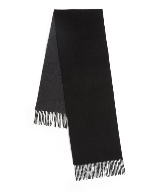 Saks Fifth Avenue | Blue Two-tone Cashmere Scarf for Men | Lyst