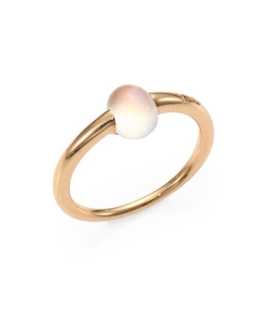 Pomellato | Metallic M'ama Non M'ama Moonstone & 18k Rose Gold Cabochon Ring | Lyst