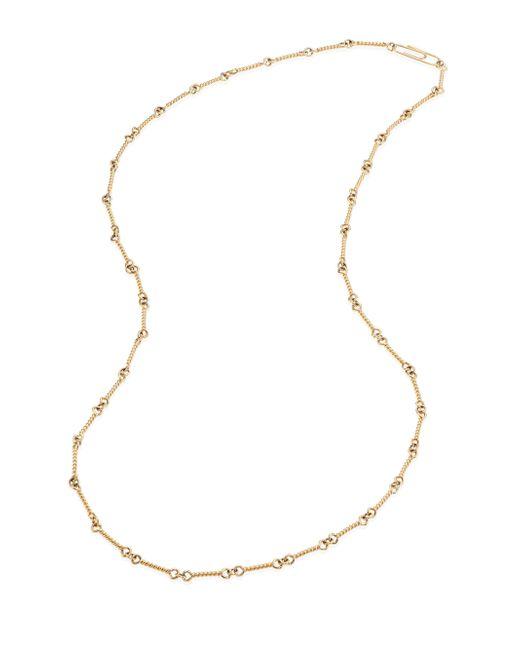 Aurelie Bidermann - Metallic 18k Yellow Gold Twisted Chain Necklace/29 - Lyst