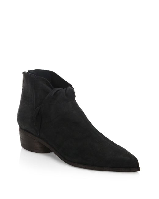 LD Tuttle - Black The Marble Leather Booties - Lyst