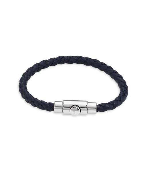 Ferragamo - Brown Braided Bracelet - Lyst