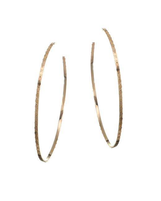 Lana Jewelry - Metallic 15-year Anniversary Small Nude Glam Magic Hoop Earrings/2.6 - Lyst