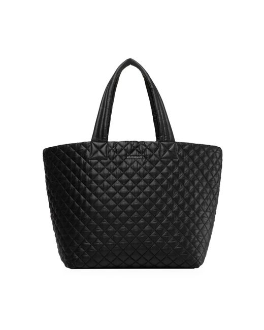 MZ Wallace Red Metro Quilted Tote
