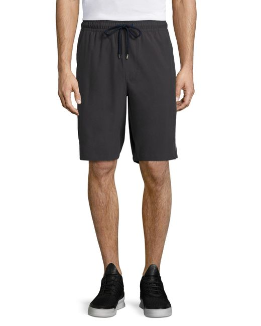 Vilebrequin - Gray Active Cannes Woven Shorts for Men - Lyst