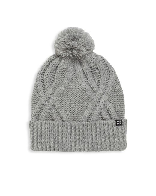 Block Headwear - Gray Large Cable Cuff Beanie - Lyst