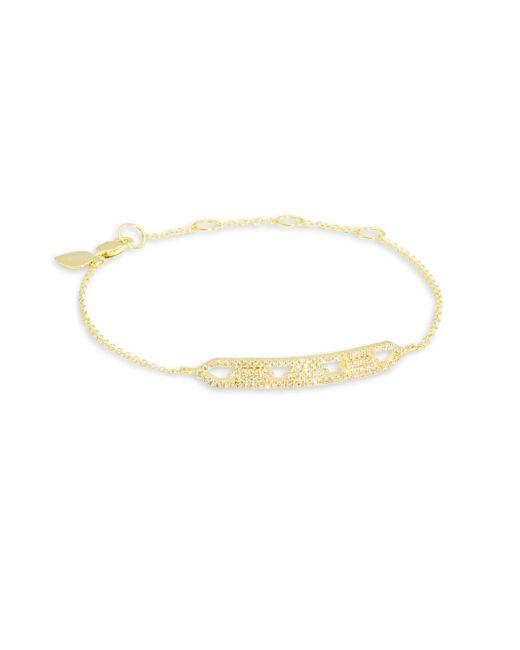 Meira T - Metallic Diamond & 14k Yellow Gold Bracelet - Lyst