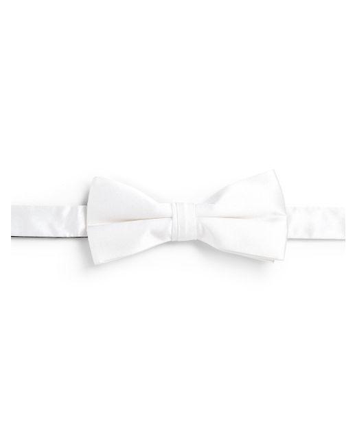 Saks Fifth Avenue | White Silk Bowtie for Men | Lyst