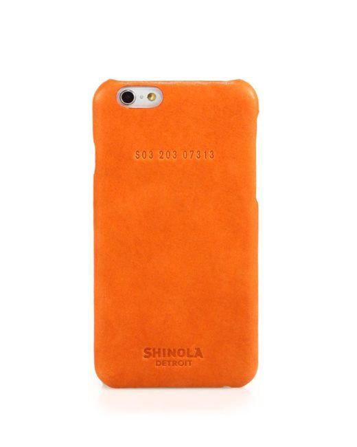 Shinola | Orange Essex Leather Iphone 6 Case | Lyst
