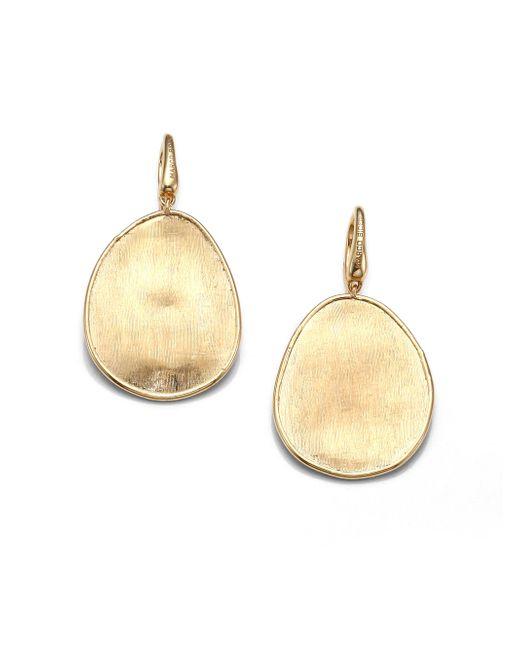 Marco Bicego - Metallic Lunaria 18k Yellow Gold Drop Earrings - Lyst