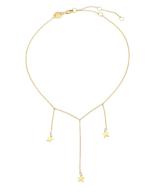 Jennifer Zeuner - Metallic Eve Chain Choker - Lyst