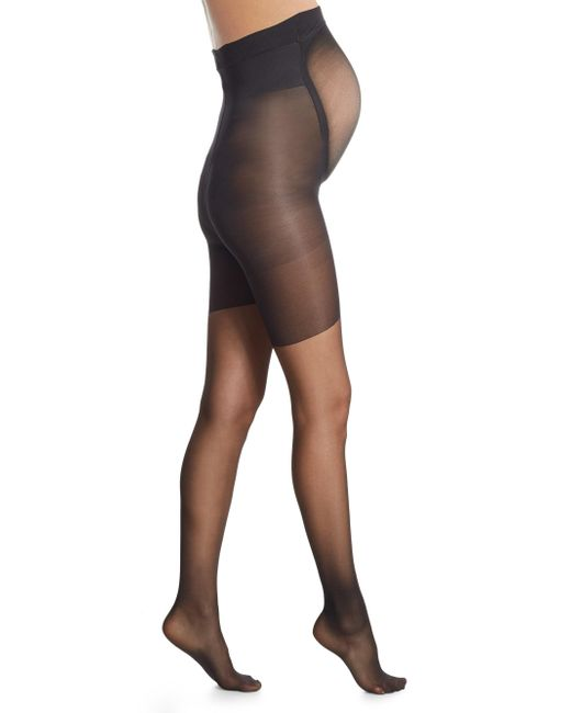 Spanx - Black Mama Maternity Full-length Pantyhose - Lyst