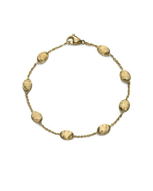 Marco Bicego Metallic Siviglia 18k Yellow Gold Bead Bracelet