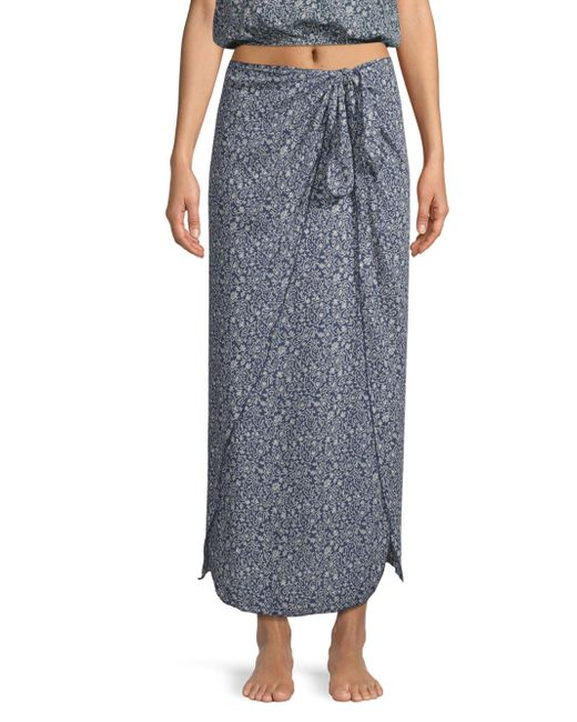 Cool Change - Blue Nuelle Wrap Skirt - Lyst