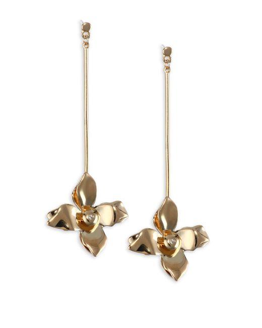 Elizabeth and James   Metallic Halona Earrings   Lyst