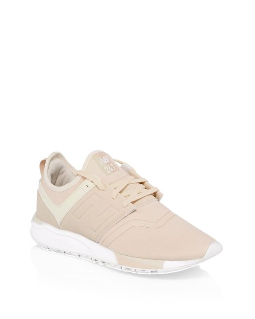 New Balance - Multicolor 247 Knit Sneakers - Lyst