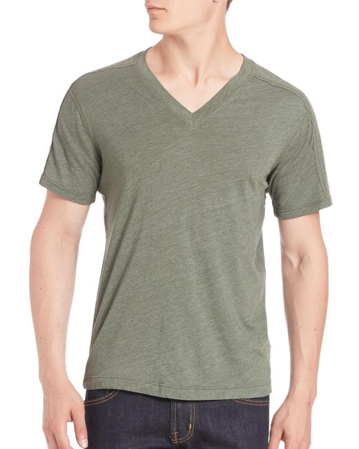 Splendid Mills | Multicolor V-neck Short Sleeve Tee for Men | Lyst