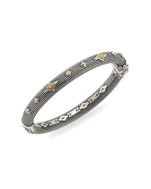 Konstantino Metallic Delos 18k Yellow Gold & Sterling Silver Bracelet