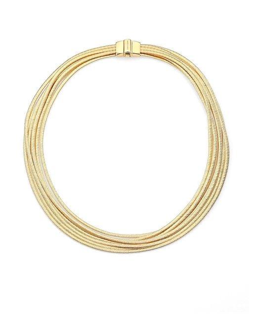 Marco Bicego Metallic Cairo 18k Yellow Gold Multi-strand Necklace