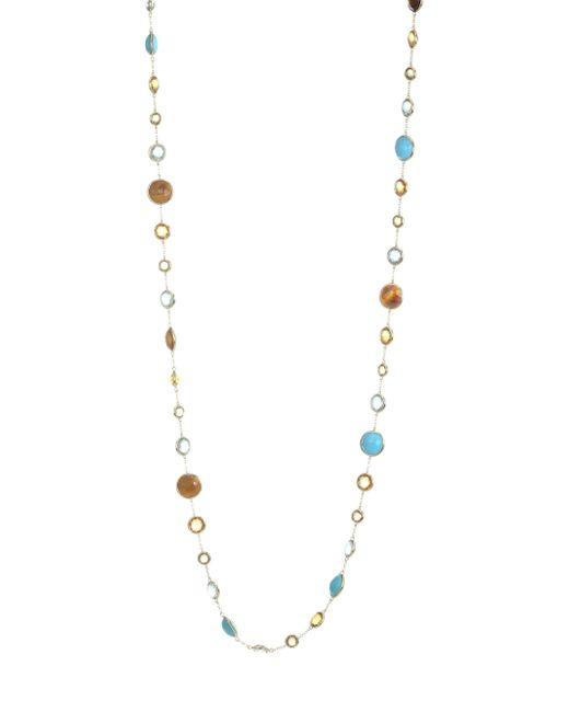 Ippolita - Metallic Lollipop 18k Yellow Gold Multi-stone Lollitini Long Necklace - Lyst