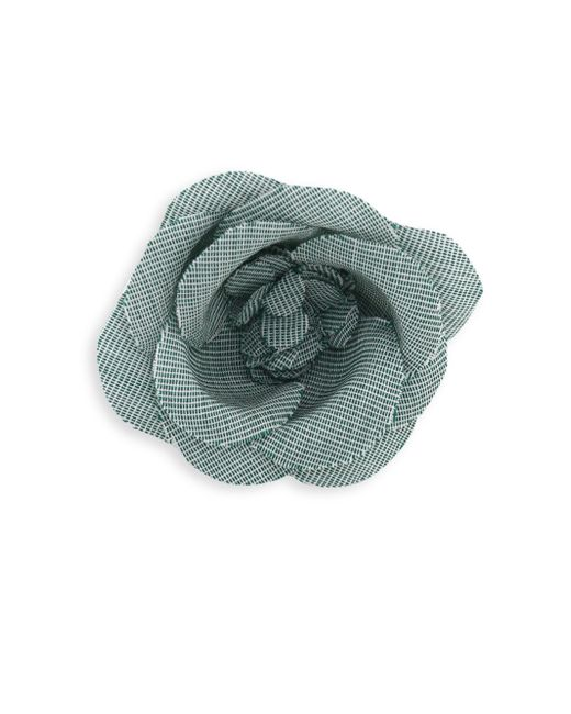 Hook + Albert | Green Rose Tie Pin | Lyst