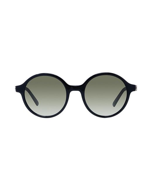 Dior Black 30montaigne 51mm Round Sunglasses