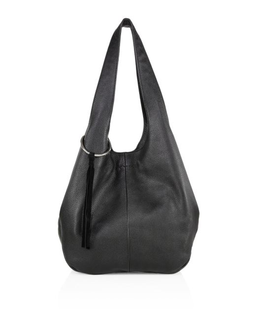 Elizabeth and James - Black Finley Leather Shopper - Lyst