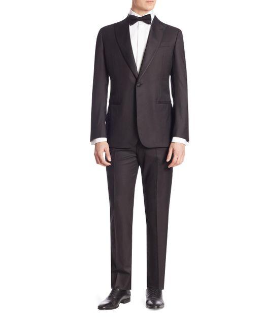 Giorgio Armani - Black Soft Model Tuxedo for Men - Lyst