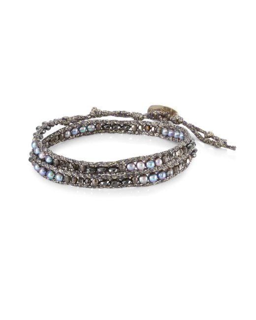 Chan Luu | Multicolor Peacock Blue Mix Bracelet | Lyst