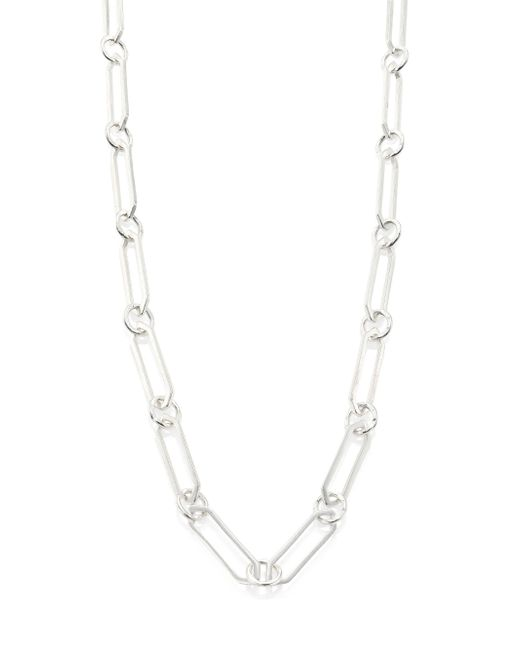 Stephanie Kantis | Metallic Courtly Chain Link Necklace/42 | Lyst