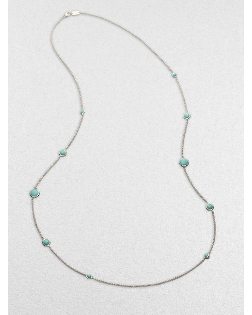 Ippolita | Metallic Turquoise & Sterling Silver Necklace | Lyst