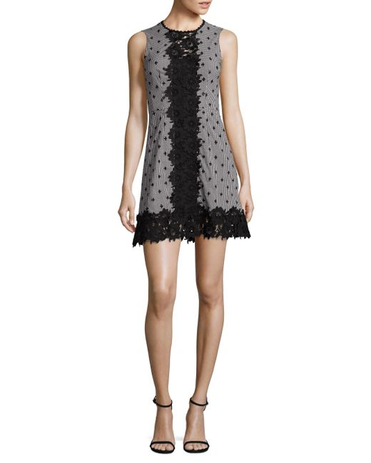 Nanette Lepore | Black Highline Dress | Lyst