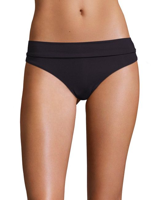 Melissa Odabash - Black Foldover Bikini Bottom - Lyst