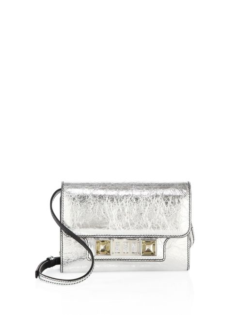 Proenza Schouler | Ps11 Metallic Leather Chain Wallet | Lyst